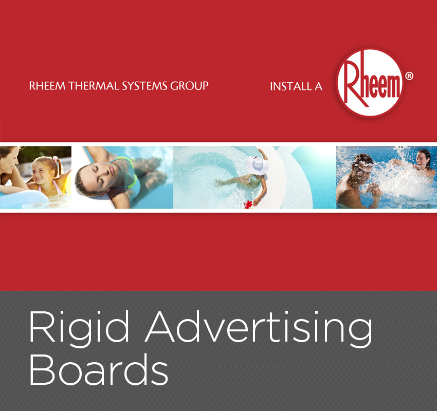 Rigid Advertising Boards